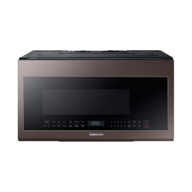2.1 cu. ft. Over-the-Range Microwave with Sensor Cooking in Fingerprint Resistant Tuscan Stainless Steel
