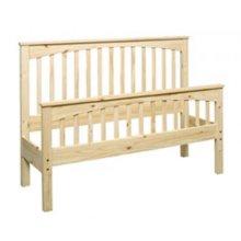 Pine Slat Bed-QUEEN