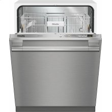 G 4998 Vi SF AM Fully-integrated, full-size dishwasher with hidden control panel, cutlery basket and CleanTouch Steel panel - Floor Model
