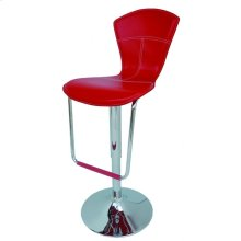 Double Check Color Availability Metal Chrome Base Bar Stools.