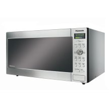 Family size Genius® Inverter® stainless steel microwave