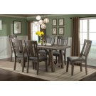 Cash Collection 7pc. Dining in Distressed Espresso Product Image