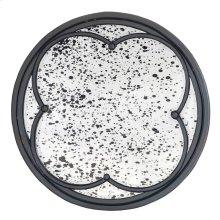 Gothic Round Mirror Lg.