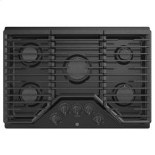 """30"""" Built-In Gas Deep Recessed Edge-to-Edge Black Cooktop"""