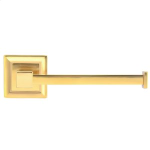 Stanton Toilet Paper Holder - Antique Brass Product Image