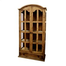 1 Piece China Cabinet with 1 drawer and 2 doors