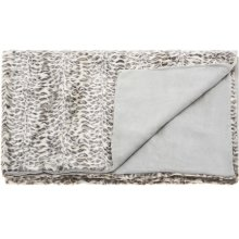 "Fur N9450 Ivory/grey 50"" X 70"" Throw Blanket"