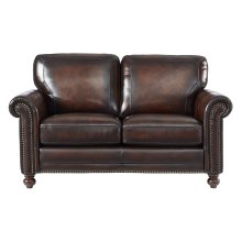 7160 Hampton Loveseat L501m Brown