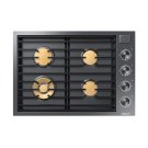 """Modernist 30"""" Gas Cooktop, Graphite Stainless Steel, Natural Gas Product Image"""