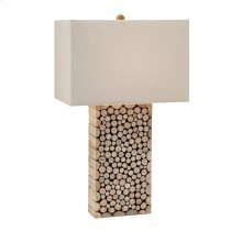 Cynder Wood Table Lamp