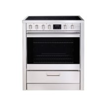 "30"" (76cm) stainless steel slide-in electric range"