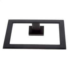 Matte Black Tahoe Towel Ring