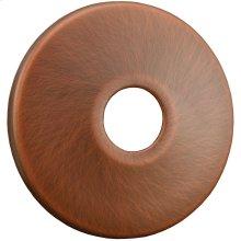 "Old World Bronze Escutcheon 1/2"" CTS - 5/8"" OD Low Pattern 2-1/2"" OD"