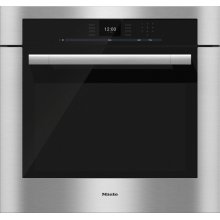 H 6580 BP 30 Inch Convection Oven with touch controls and MasterChef programs for perfect results.