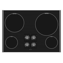 30-inch Electric Cooktop with Two Power Cook Burners