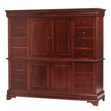 Louis Phillipe 2-Piece Chifforobe Entertainment