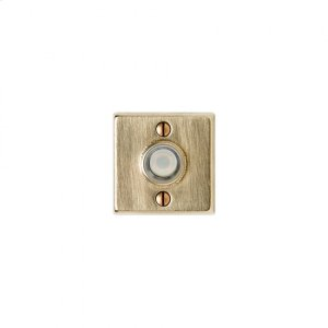 Square Metro Doorbell Button Silicon Bronze Brushed Product Image