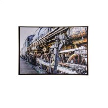 Textured Framed Print By Local Artist