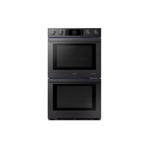 "30"" Flex Duo Chef Collection Double Wall Oven in Matte Black Stainless Steel"