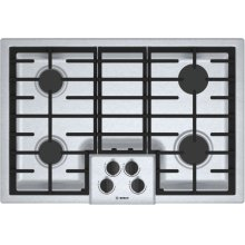500 Series Gas Cooktop 30'' Stainless steel NGM5056UC