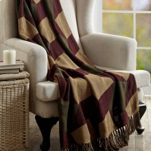 Napa Valley Jacquard Woven Throw 60x50