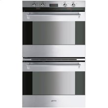 """76CM (30"""") """"Classic"""" Electric Multifunction Double Oven Stainless Steel"""
