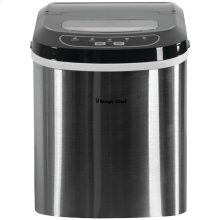 27lb-Capacity Ice Maker (Stainless)