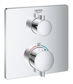 Grohtherm Dual Function 2-Handle Thermostatic Trim Product Image