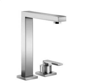 BAR TAP Two-hole mixer with individual flanges - matt platinum Product Image