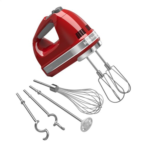 9-Speed Hand Mixer - Empire Red