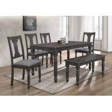 7816 Distressed Dining Table