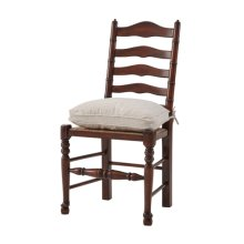 The Georgian Cottage Dining Chair, #plain# - Acacia