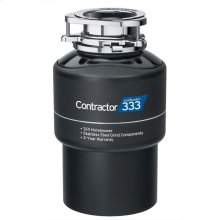 Contractor 333 Garbage Disposal with Cord, 3/4 HP
