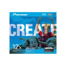 12x Internal BD/DVD/CD Burner. Cyberlink® software included. SATA Interface.