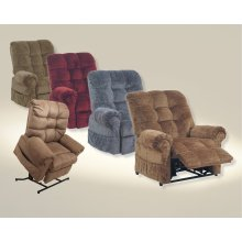 Powr Lift Chaise Recliner - Saddle