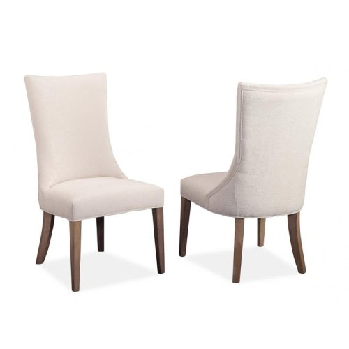 Monticello Side Chair in Fabric