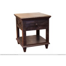 1 Drawer End Table