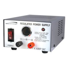 4 Amp Regulated 12VDC Power Supply with Cigarette Lighter Adapter