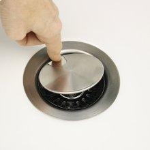 Flip Top Crumb Cup Inch Kitchen Drain