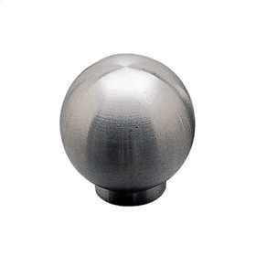 Contemporary Stainless Steel Knob - 340