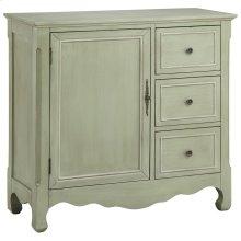 Chesapeake 1-door 3-drawer Petite Cabinet