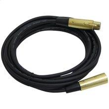XLR Microphone Cable, 15ft (XLR Female to XLR Male)