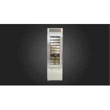 "24"" Pro Wine Cellar - Left Door - Stainless Steel"