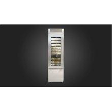 """24"""" Pro Wine Cellar - Left Door - Stainless Steel"""