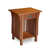 Prairie Mission Nightstand Table with Drawer