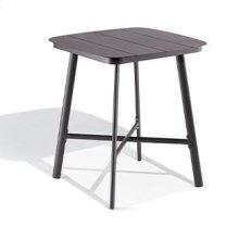 "Eiland 36"" Square Bar Table - Carbon"
