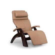 Perfect Chair PC-420 Classic Manual Plus - Sand Top Grain Leather - Dark Walnut