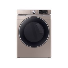 7.5 cu. ft. Smart Electric Dryer with Steam Sanitize+ in Champagne