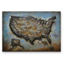 Metal America 31x47 Metal