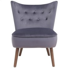 Elle Accent Chair in Grey